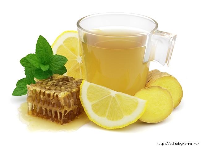 té de jengibre